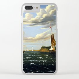 Thomas Chambers Staten Island and the Narrows Clear iPhone Case