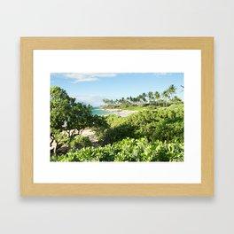 Mokapu Ulua Beach Wailea Maui Hawaii Framed Art Print