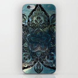 Flower mandala -night iPhone Skin