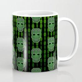 Skull Hacker (pattern version) Coffee Mug