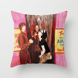 adult day Throw Pillow