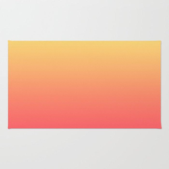 New Wave Sun Grandient Rug