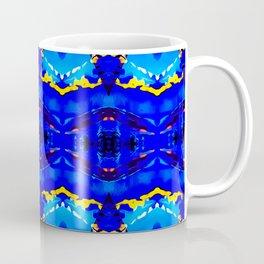 """Le froid, le bleu et le ciel"" Coffee Mug"