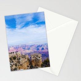 Beautiful Grand Canyon landscape at November, Arizona, USA Stationery Cards