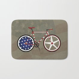 Bike America Bath Mat