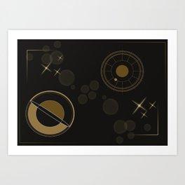 Circular Star Art Print