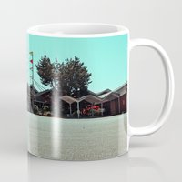 mid century Mugs featuring The Mid-Century dream by Vorona Photography