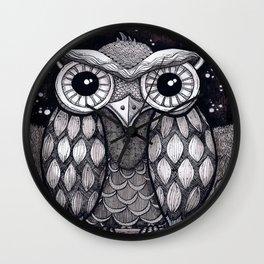 Owl II Wall Clock