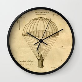 Falling, With Style Wall Clock