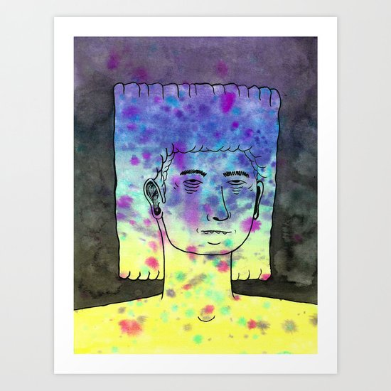 We Are All Made Of Stardust III Art Print