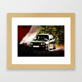 Bimmer E30 Framed Art Print
