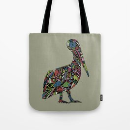 Shafted Pelican Tote Bag
