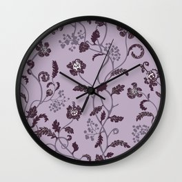 gentle weeds Wall Clock