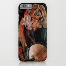 The Ecstasy of Dolly Parton iPhone Case