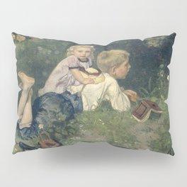 The Butterflies - August Allebé (1871) Pillow Sham