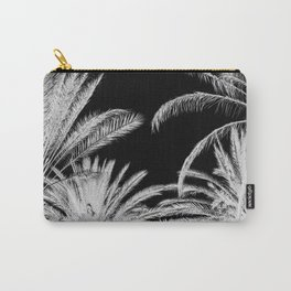 Palm Trees B&W Carry-All Pouch