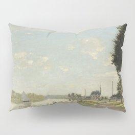 Claude Monet Argenteuil c. 1872 Painting Pillow Sham