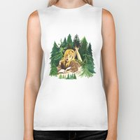laura palmer Biker Tanks featuring Twin Peaks Secret Diary of Laura Palmer by Lindsey Caneso