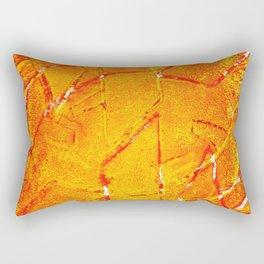 Vegetable Abstract Print Rectangular Pillow