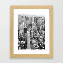 New York - Traveling series Framed Art Print