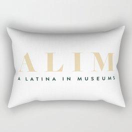 ALIM - A Latina in Museums Rectangular Pillow