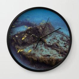 Shipwreck Wall Clock