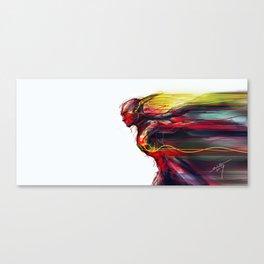 Reverse Flash Canvas Print