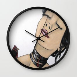 Sing to me softly Wall Clock