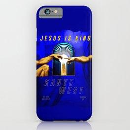 Jesus is King iPhone Case