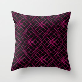 Mr Messy Throw Pillow