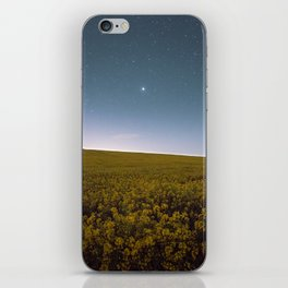 Fields of Yellow, Stars and Blue iPhone Skin