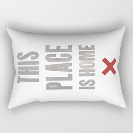 This Place Is Home Rectangular Pillow