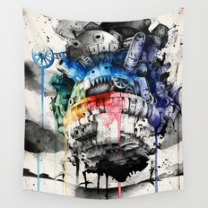 Howl's Moving Castle Wall Tapestry