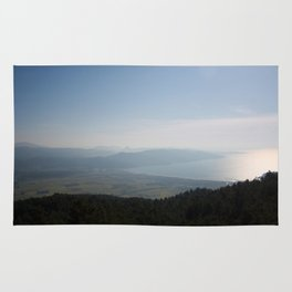 Cool Blue Sky and Green Plains of Gokova from Sakartepe Rug