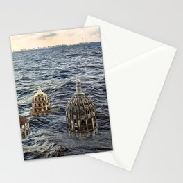 Underwater City Stationery Cards