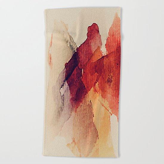 Slices of fruit Beach Towel