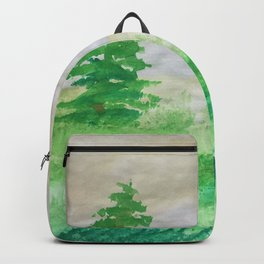 Natures green Backpack