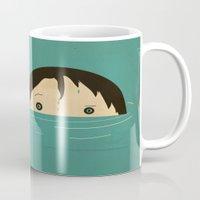 boy Mugs featuring Boy by Danelys Sidron