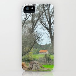 Green World II. iPhone Case