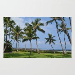 Palm Trees on the Big Island Rug
