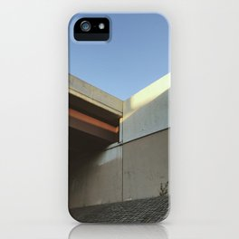 looking forward, taking a few steps back iPhone Case