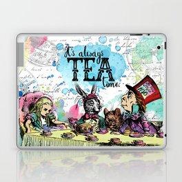 Alice in Wonderland - Tea Time Laptop & iPad Skin