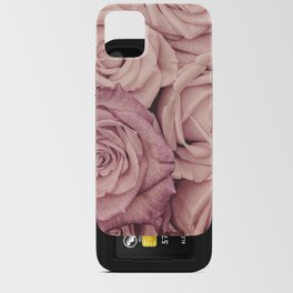 Some People Grumble - Pink Rose Pattern - Roses Garden iPhone Card Case