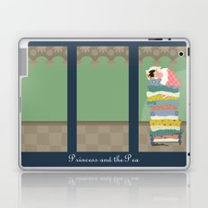 Princess and the Pea Laptop & iPad Skin