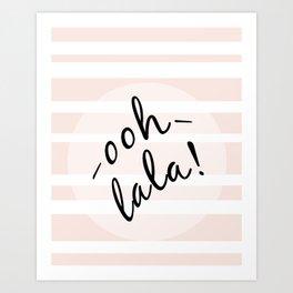 oohlala Art Print