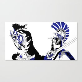 The Queen of Spades - The Officer Canvas Print