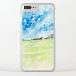 Hill Clear iPhone Case