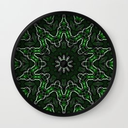 Emerald Moon Wall Clock