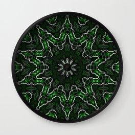 Emerald Moon Wall Clock