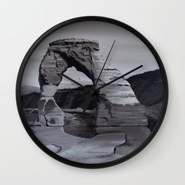 Monument Valley #2 Wall Clock